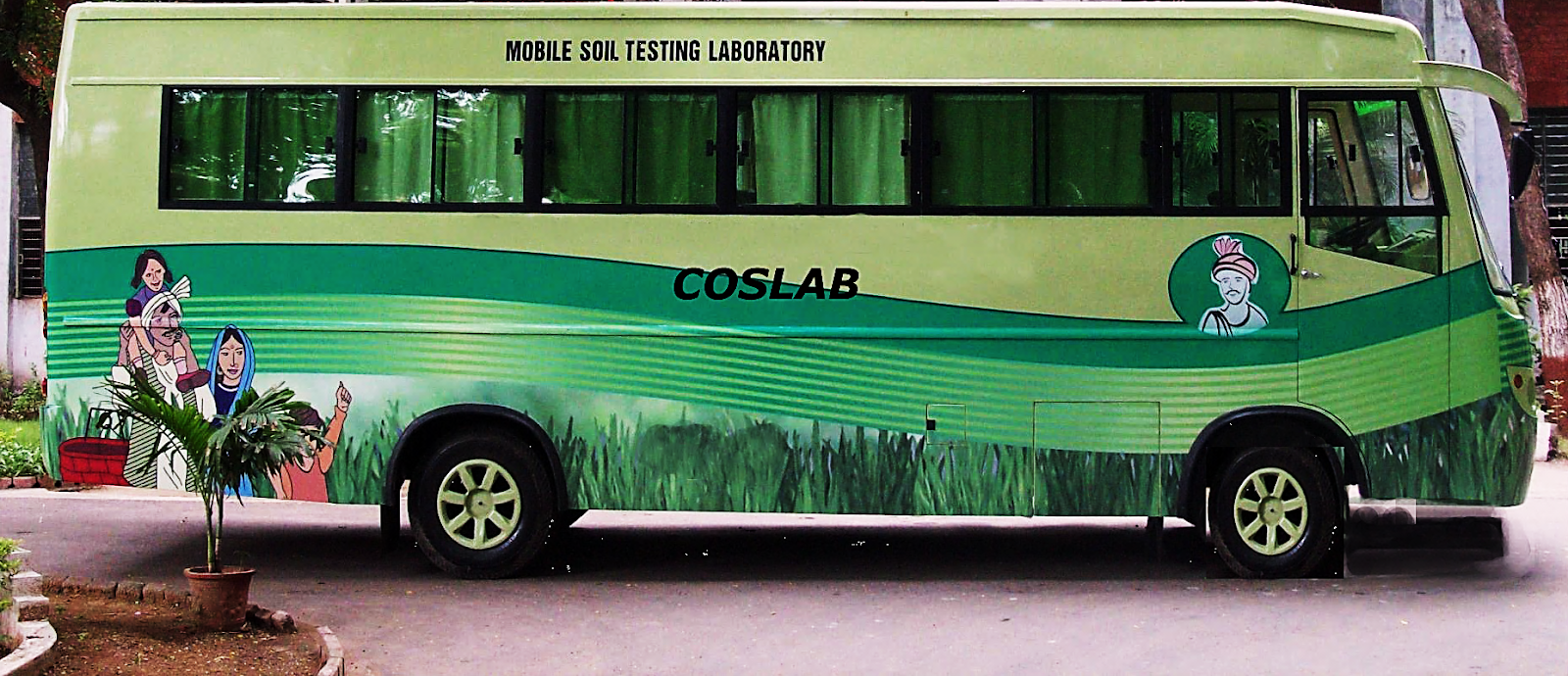 Mobile Soil Testing Laboratory Van Bus Manufacture And Supplier